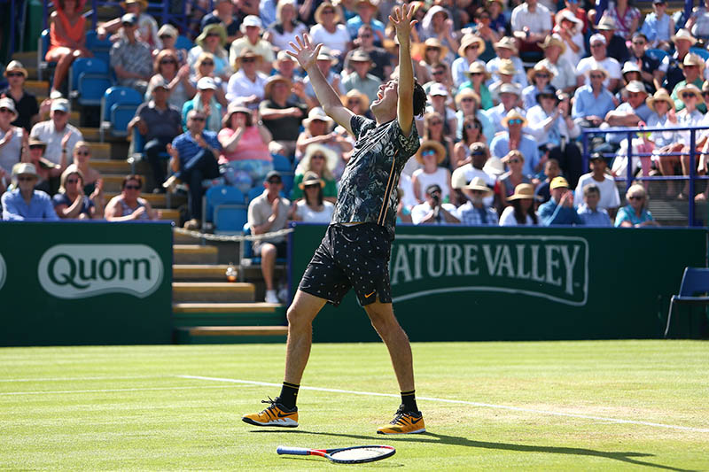 Hands up if you've just won your first ATP Tour title