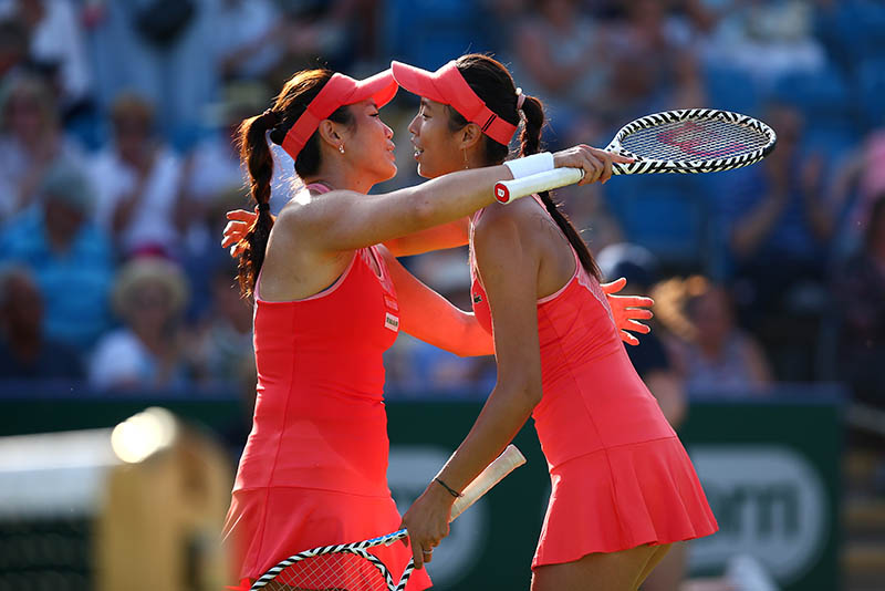Doubles delight for Chan Hao-ching and Latisha Chan