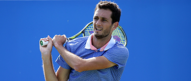 James Ward in action
