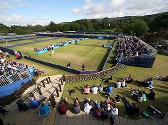Courtside at the Ilkley Trophy