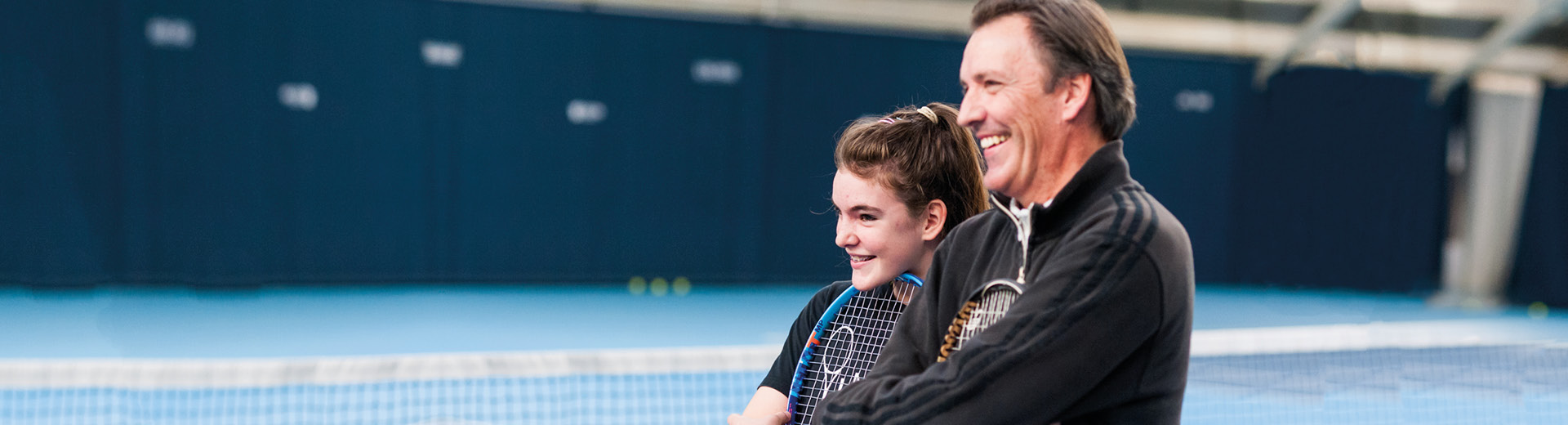 How to support your child in tennis